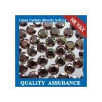 W0906 Brown Cheap hot fix octagon,China octagon hot fix wholesale,hot fix octagon