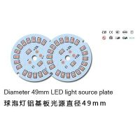LED bulb light aluminum plate diameter 49mm LED spotlights homegrown manufacturers 2-5W