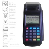 Wireless EFT-POS Terminal With high speed Thermal Printer, GPRS and WiFi,supports Contactless,Magnet thumbnail image