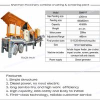 mobile crushing machine,portable stone crusher,mobile concrete crusher in big discount thumbnail image