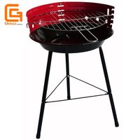 Cheap Price Easily Assembled Outdoor Portable Simple Design Round Charcoal Barbecue Bbq Grills