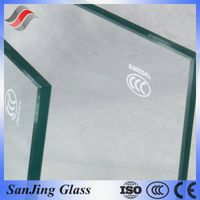 China Bent Clear 5mm/6mm/8mm/10mm/12mm/15mm/19mm Thick Tempered Glass