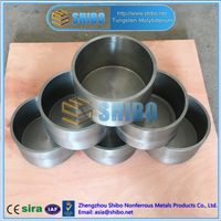 Factory Direct Sale Molybdenum Crucible for Sapphire Growing Furnace