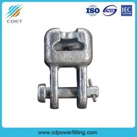 Hot-DIP Galvanized Steel Power Line Hardware Socket Eye Clevis