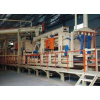 Particle board making equipment