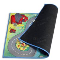 Customize rubber anti-slip washable playmat for babies
