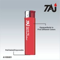 cheap price but high quality solid color cigarette gas lighter