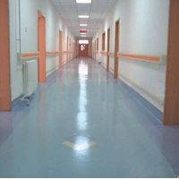 Direct sale environmental stone grain pvc foam floor