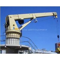 Marine Hydraulic Luffing Crane deck crane