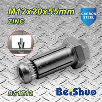 Made-in-China M12 Anchor Bolt Extension Stainless Steel Zinc thumbnail image