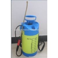 5L Single-Shoulder air pressure water sprayer with pressure gauge,brass lance and nozzle