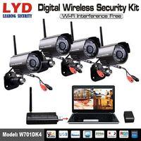 2.4Ghz Remote View IR Waterproof CCTV Digital Wireless Camera System thumbnail image