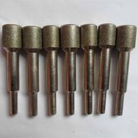 Diamond Grinding Tools Electroplated Diamond Mounted Point Grinding Head