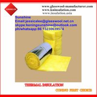 Fiberglass Insulation duct Wrap batt