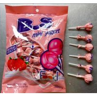 Yogurt lollipop/fruity pop candy/lollipop supplier