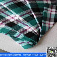 stock lot cheap yarn dyed shirt fabric