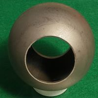 40mm-100mm hollow iron ball with hole for sale