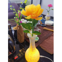 peony artificial flower light wiht battery thumbnail image