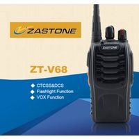 UHF Frequency Cheap Walkie Talkie Zastone Portable Cheap FM Radio