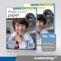 Colorway Matte inkjet Photo Paper manufacturer whole sale