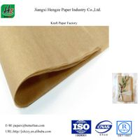 Unbleached uncoated 145gsm packaging kraft paper