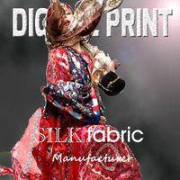 Home--Garment print on silk twill scarves