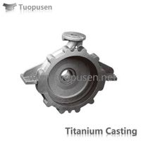 Titanium Castings Parts Titanium pumps casing