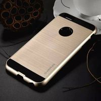Dual Layer Hard Rugged Silicone Armor Case Verus Brushed Hybrid Cover for iPhone6 6S Plus 5S IP6C130