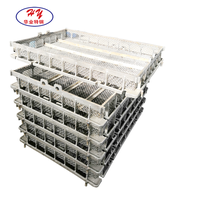 Precision casting heat resistant steel casting basket and tray