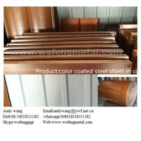 Steel building material prepainted steel coil with patterns