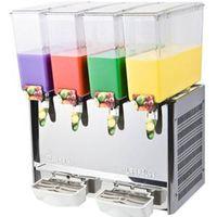 Juice dispenser with 4 tanks