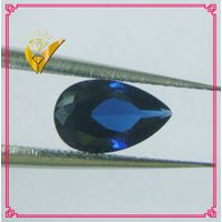 pear cut 34# synthetic blue corundum