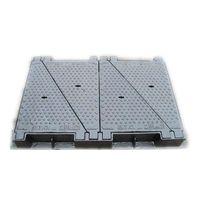 best price UAE market heavy weight ductile iron Telecom manhole cover