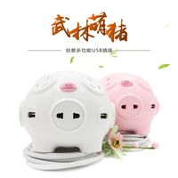 Cute piggy creative socket