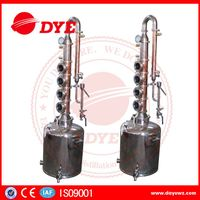 mini home vodka whiskey distilling column equipmentfor wine
