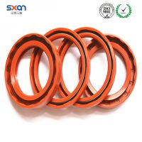 Tractor oil seal with rubber silicone material