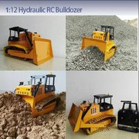 RC model 1:12 Hydraulic bulldozer