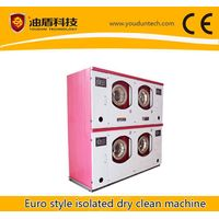 Environmental friendly isolated dry clean machine