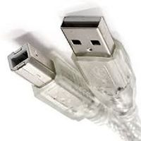 USB 2.0 Cable USB 2.0 A to B transparent thumbnail image