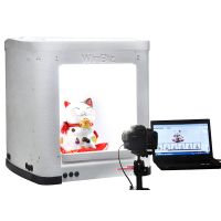 WinBiz 360º Product Photography Equipment Including Software, Turntable and Light Box