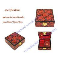 jewelry box, wedding gift, craft. hand made craft,elegant jewerly box,16cm-3 thumbnail image