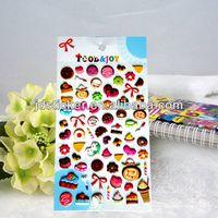 3D Fashional Colorful Custom Eco-friendly Puffy Sticker thumbnail image