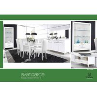 Avantgarde (White) Dining Room Set