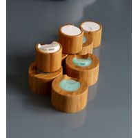 Bamboo Lids For Skin Care Lotion Bottle