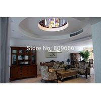 High Quality American Red Oak Living Room Furniture / Solid Wood Wine Cabinet / Factory Direct Sale