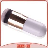 MAANGE Little Cute Foundation Makeup Brush With White handle