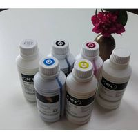 CMYK White DTG ink, textile pigment ink, comparable with dupont ink