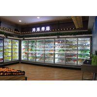 Supermarket Glass Door Freezer