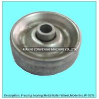 pressing metal skate wheel, pressing metal roller wheel, pressing metal track wheel thumbnail image