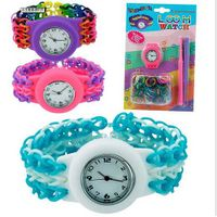 New Brand Hot Sale Colourful Candy Shape Silicon Charms Hooks S-Clips Loom Watch